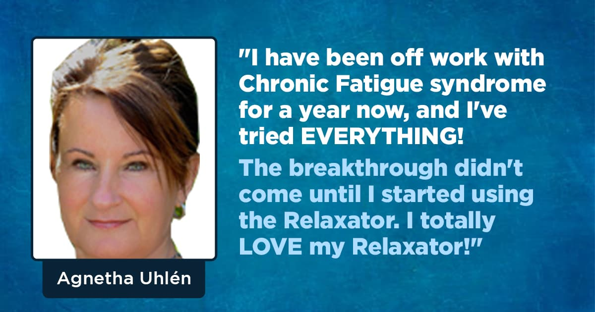 The real breakthrough came when I started using the Relaxator