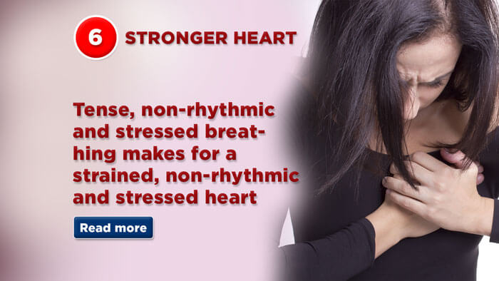 Strengthen your heart with correct breathing