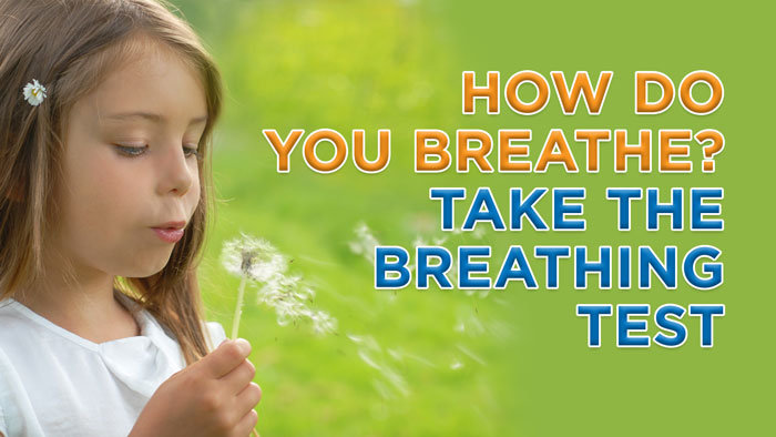 Take our 2 minute breathing test