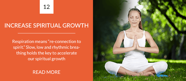 Increase Spiritual Growth