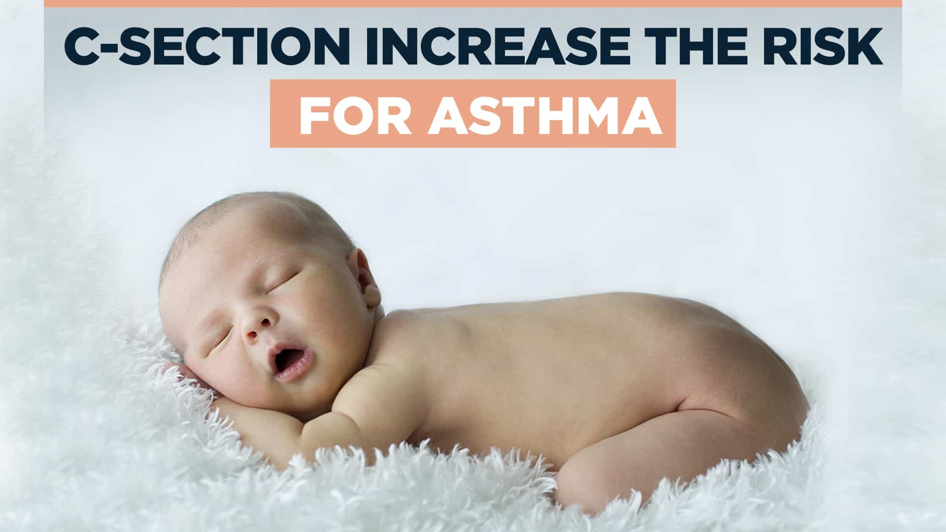 C-section increase the risk for asthma