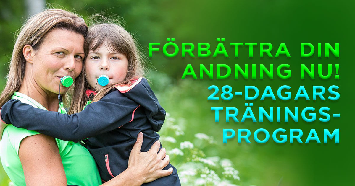 Förbättra din andning nu - 28-dagars träningsprogram