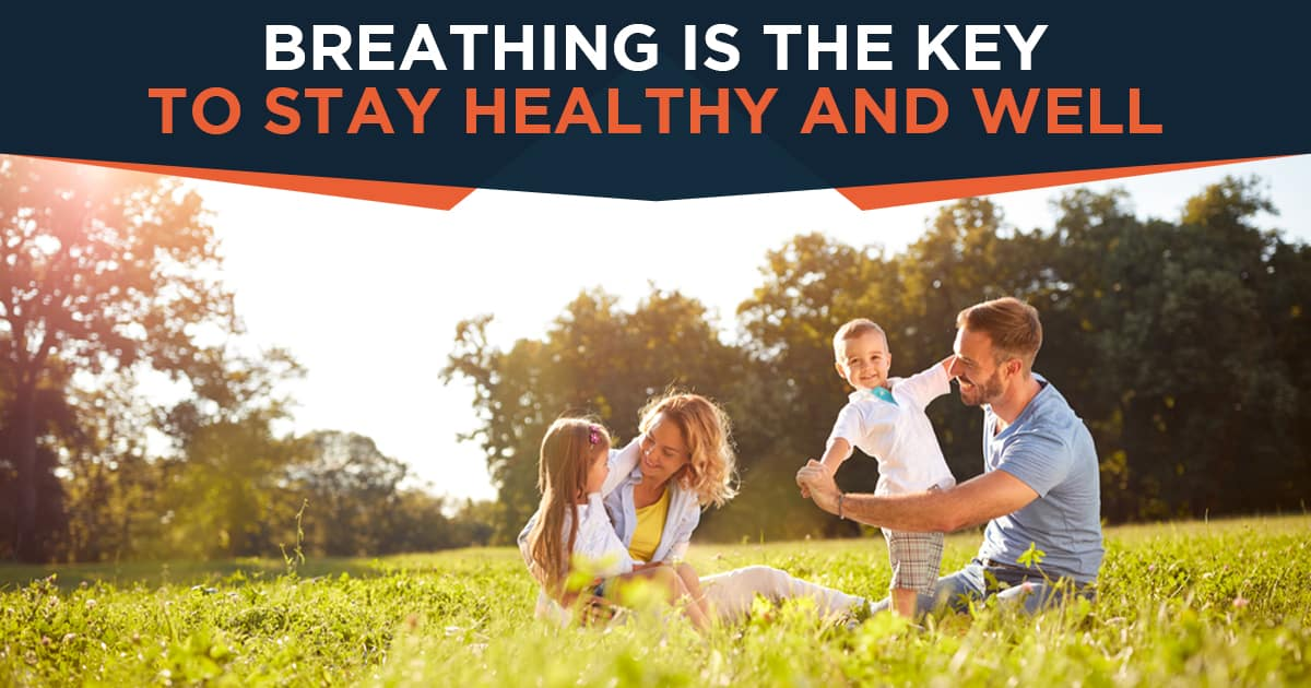 Breathing is the Key to Stay Healthy