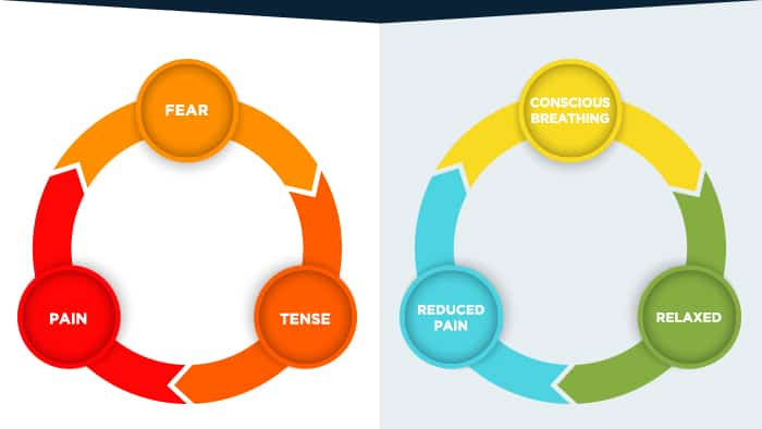 fear tense pain cycle