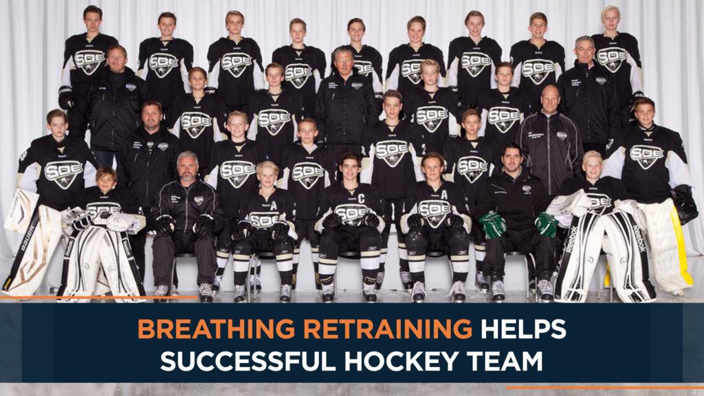 Breathing retraining helps successful hockey team