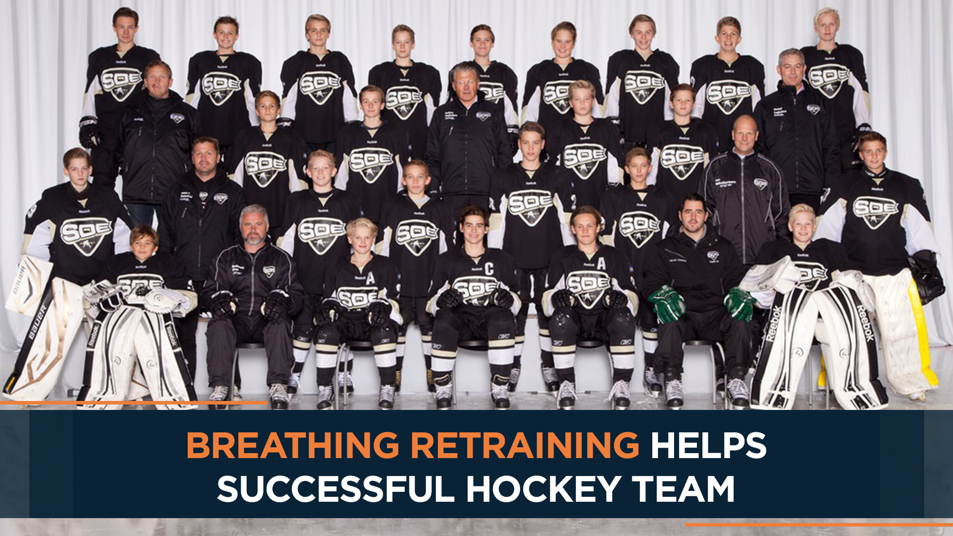 Breathing retraining helps successful hockey team